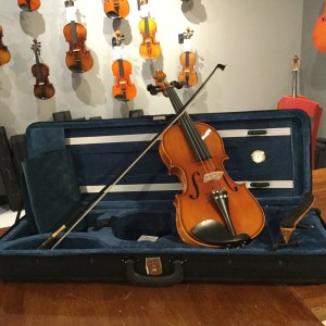 Opal V125 violin outfit upgrade
