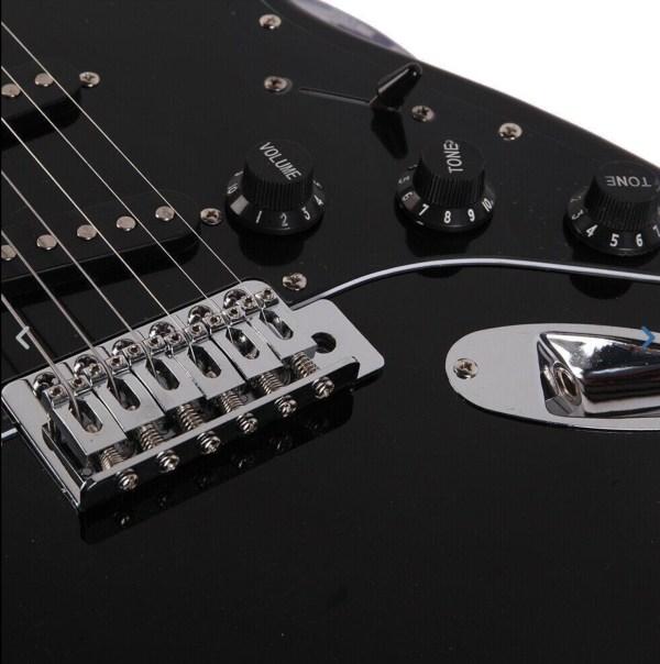 Gephardt matrix electric guitar all black