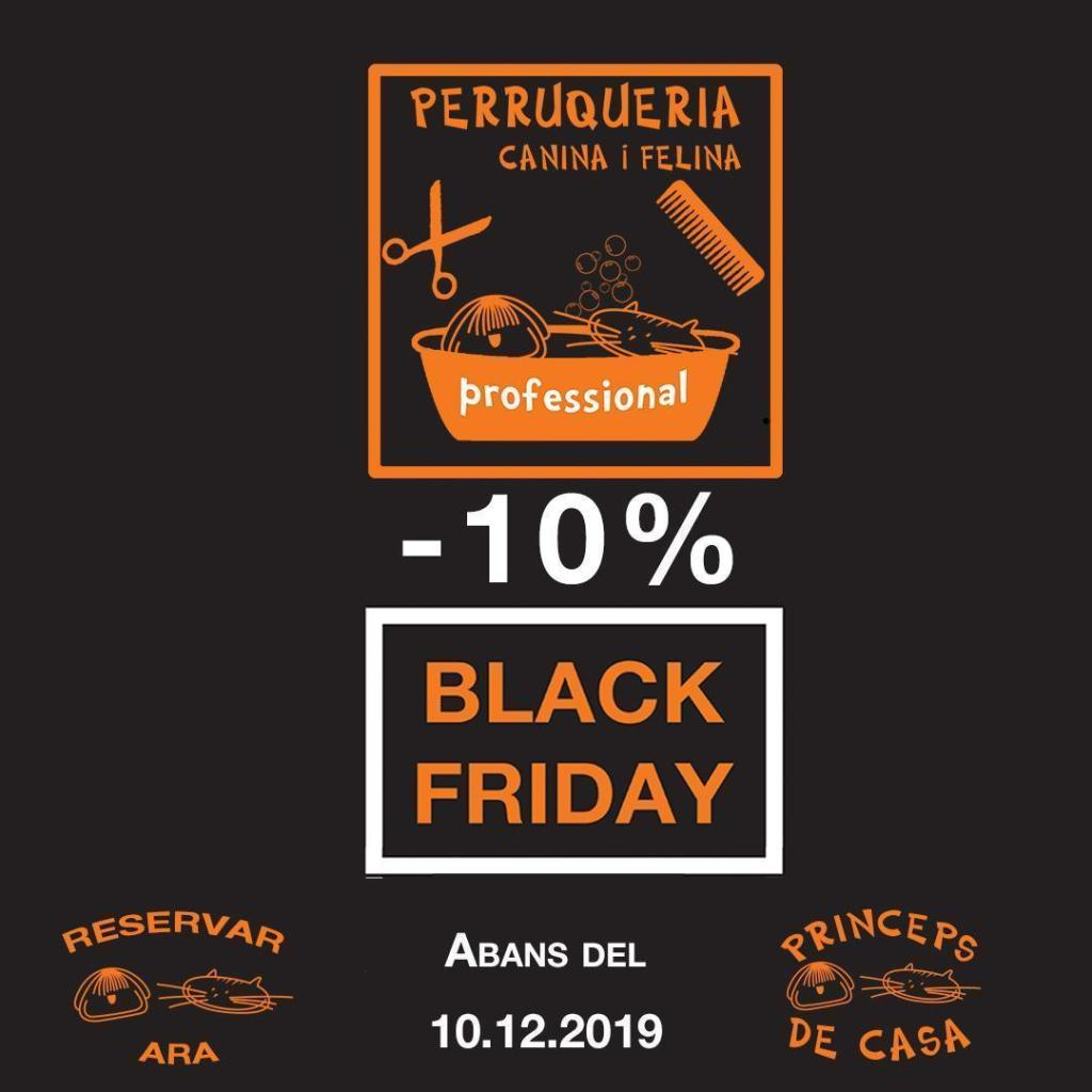 Black Friday Perruqueria canine barcelona dog grooming