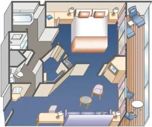 Sea Princess MiniSuite Stateroom  Princess Cruises