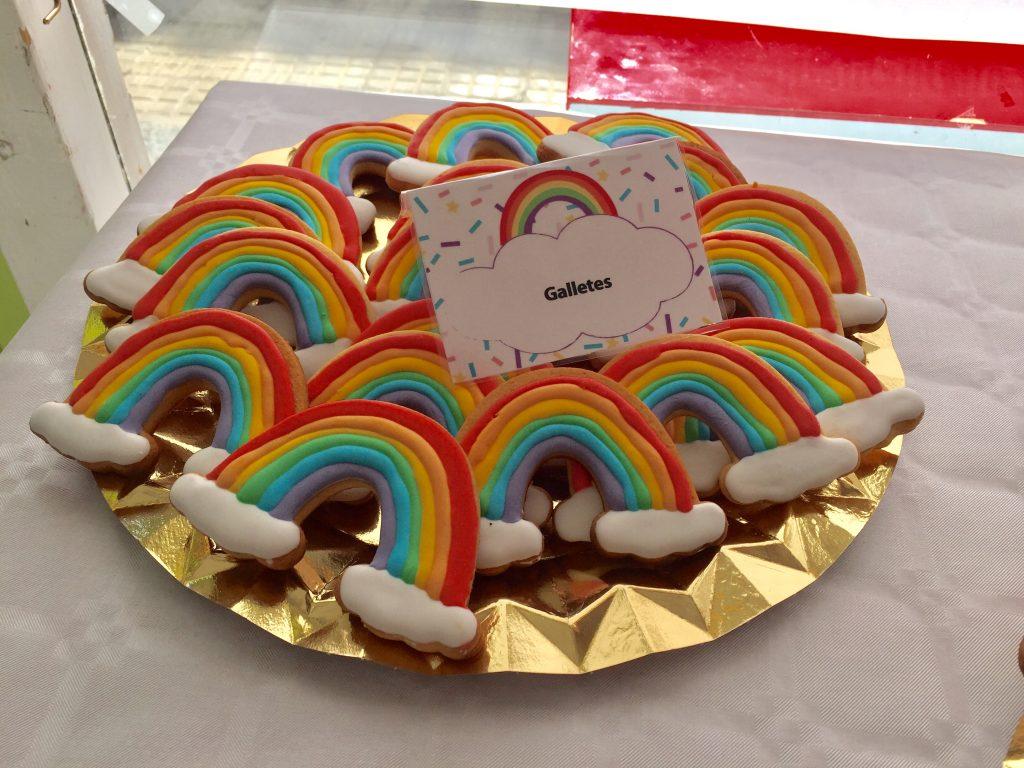 galletas arco iris