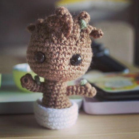Baby Groot Amigurumi by