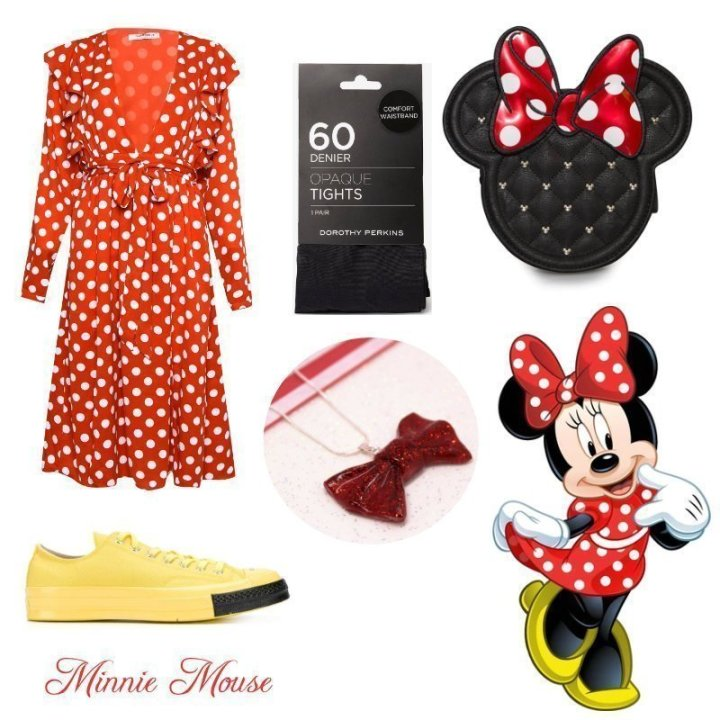 Minnie Mouse Everyday Cosplay