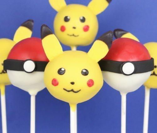 Pokémon Cake pops