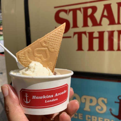 100 Scoops of Ice Cream 6-10 (Stranger Things Pop-Up)