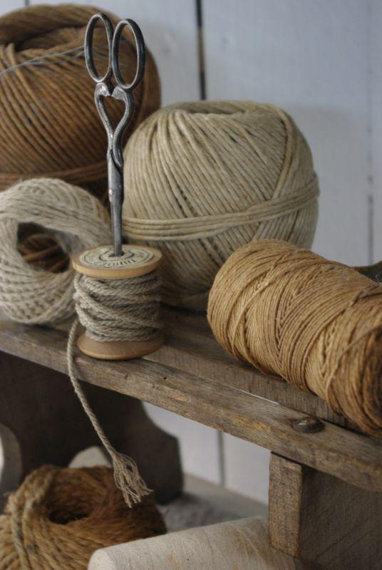 Lin Tissus Fils Et Fibre Textile Longue Et Naturelle