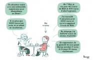 <h5>Le sénateur et les 4000 euros</h5><p>Dessin de presse, La Croix,  2017</p>