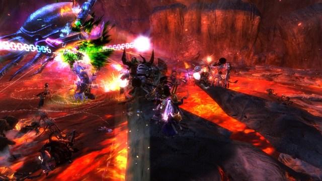 The Mega Destroyer in Mount Maelstrom  - Guild Wars 2