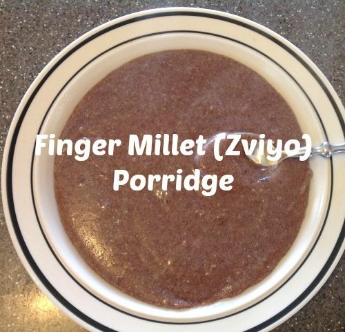 finger millet porridge