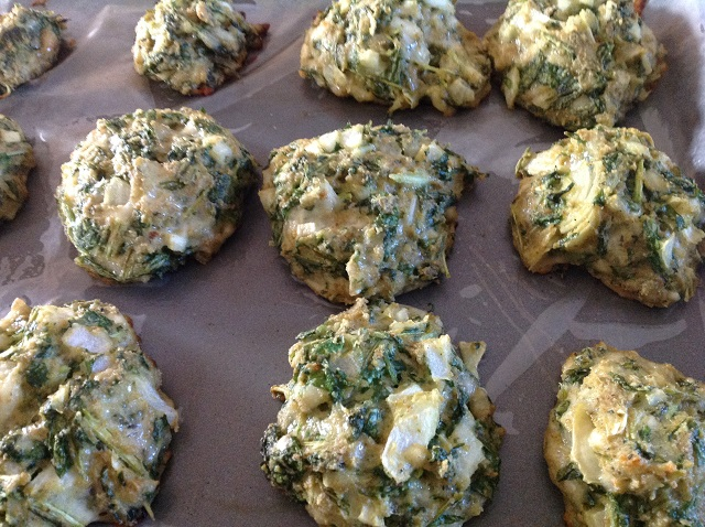 Baked Spinach and Cheese balls