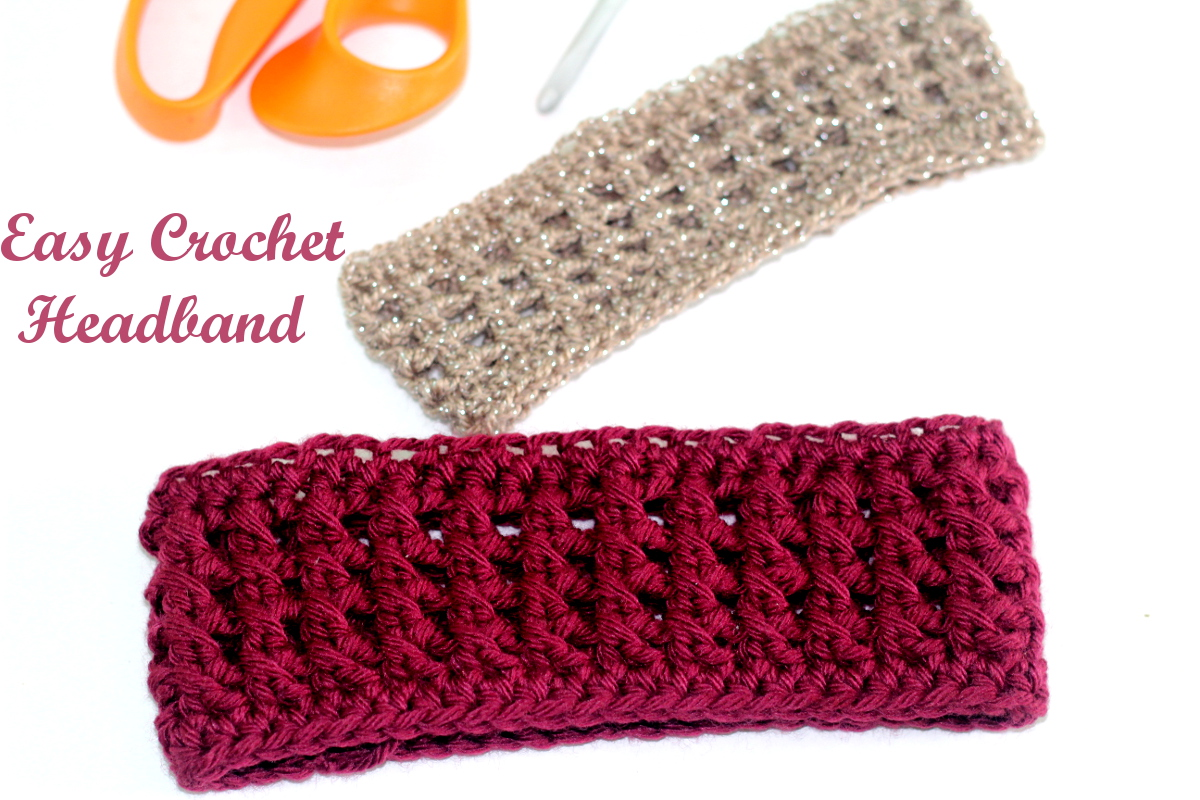 Easy Crochet Headband - PrincessTafadzwa cfa6bc0f6cf