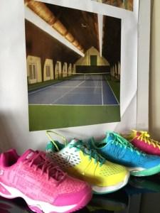 Tennis Shoes at Princeton Racquet Club Pro Shop