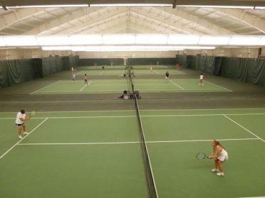 Main Courts at Princeton Racquet Club
