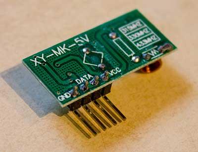Decode 433 Mhz Signals W Arduino Amp 433 Mhz Receiver