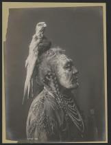 Čovek iz plemana Crow, po imenu Dva zvižduka, 1908.