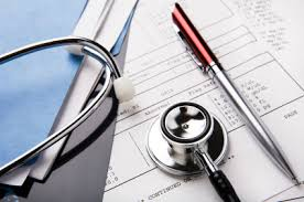stethoscope and documents