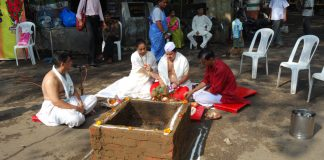 A Navrati ceremony
