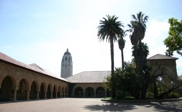 """""""Stanford University"""" by Jeff Pence liscensed under CC BY 2.0 (via Flickr)"""