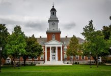 Image of Johns Hopkins University's Main Campus