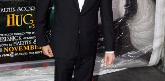 Comedian Sacha Baron Cohen at a red carpet event