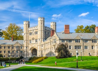 photograph of Princeton University's campus