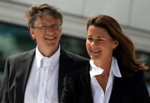photograph of Bill and Melinda Gates