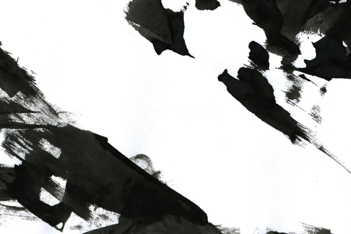 absratct image of ink painting