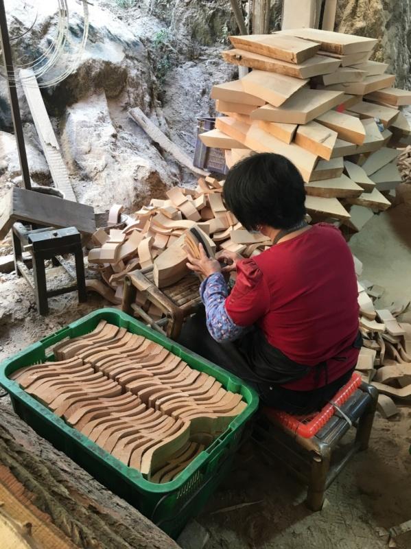 木工メーカーの職人