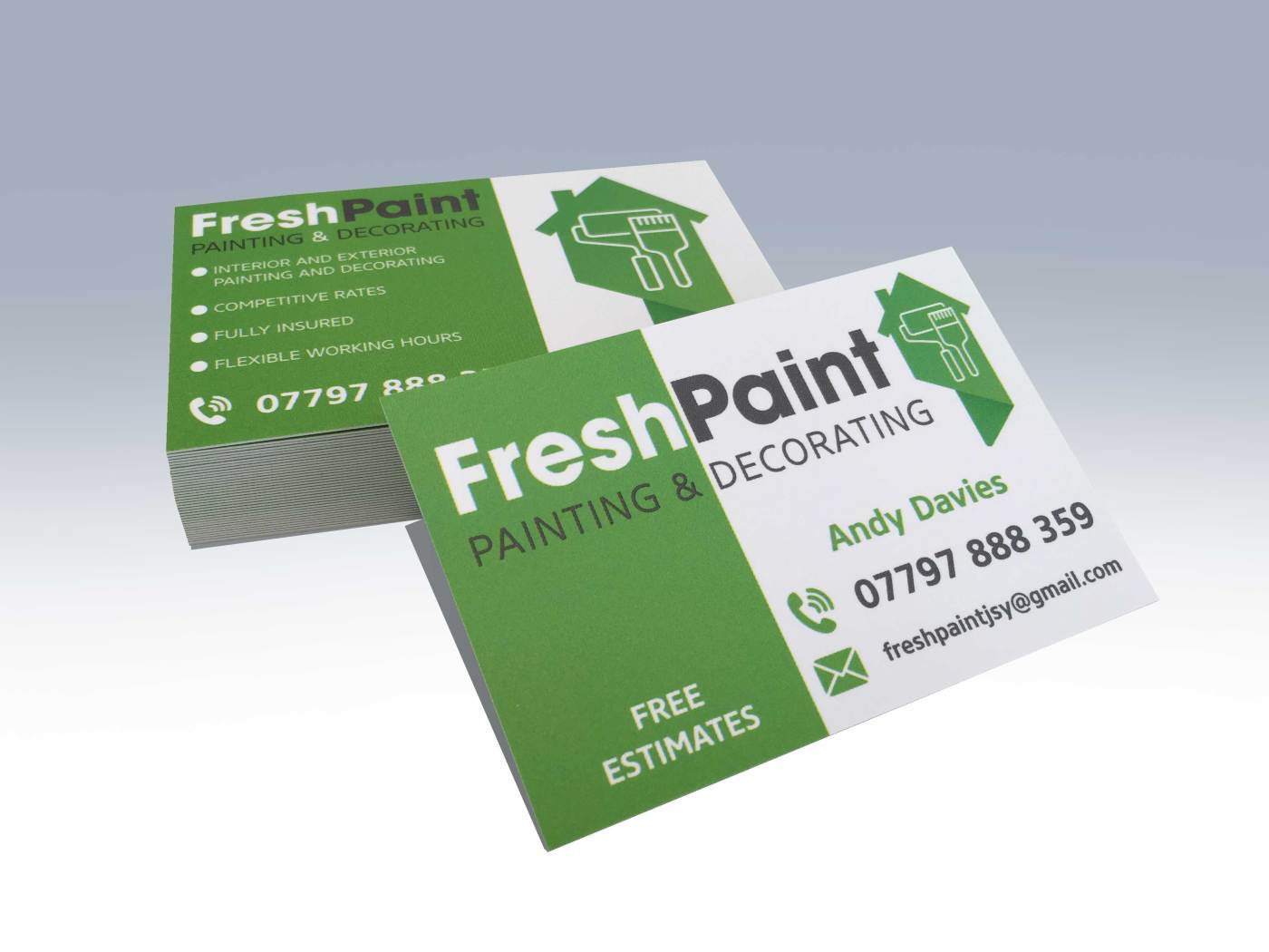 Business cards standard print fx 350gsm silk reheart Images