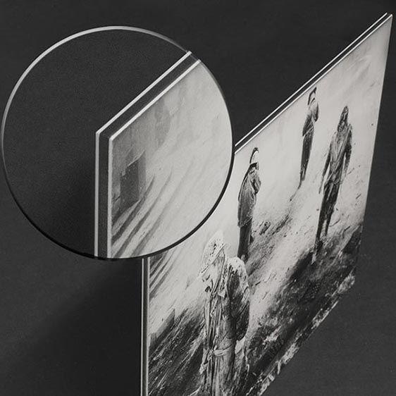 foto en aluminio dibond, detalle