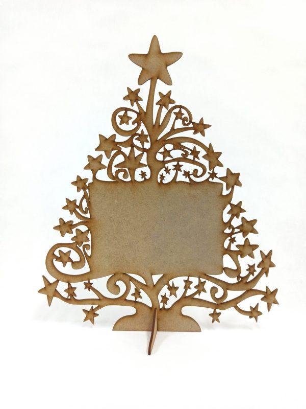 Árbol de Navidad con foto - Versión 30x40 cm SIN FOTO