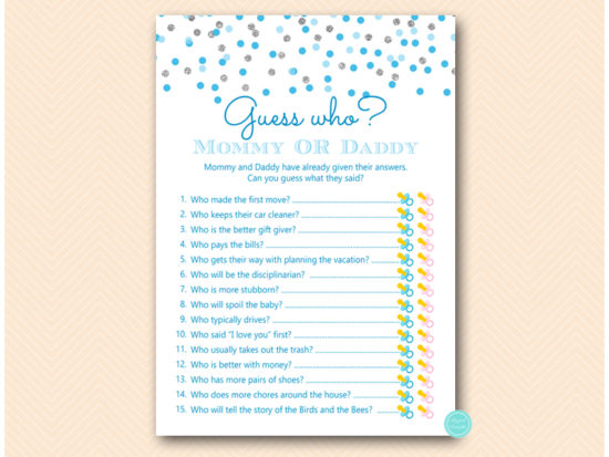 Baby Shower Invitations Pack 10