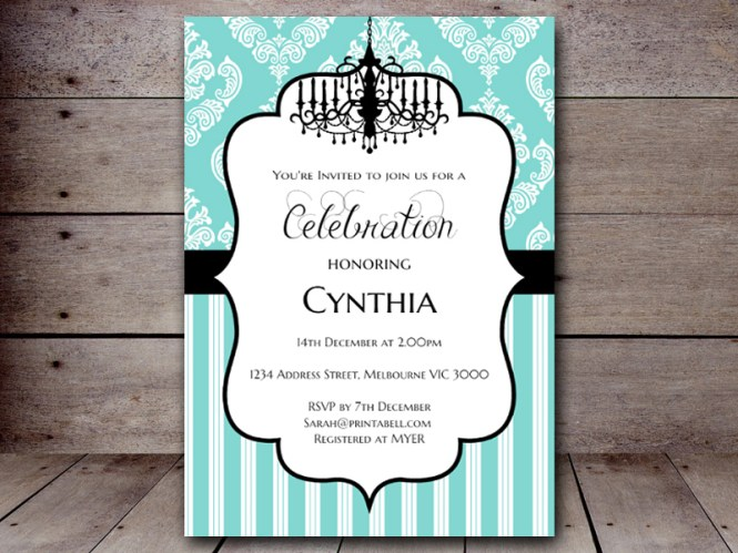 Tiffany Blue Bridal Shower Invitations Is The Right Choice For A Invitation Card With Delightful Ideas 4