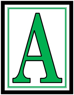 photo relating to Large Printable Alphabet Letters referred to as Interesting High Printable Letters For Banners Chetumal Mosaico.