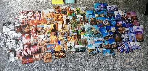 Disney World photo collage layout