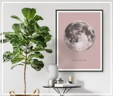 Moon & Celestial Prints & Printables