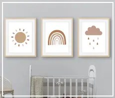 Scandi Nursery Prints & Printables