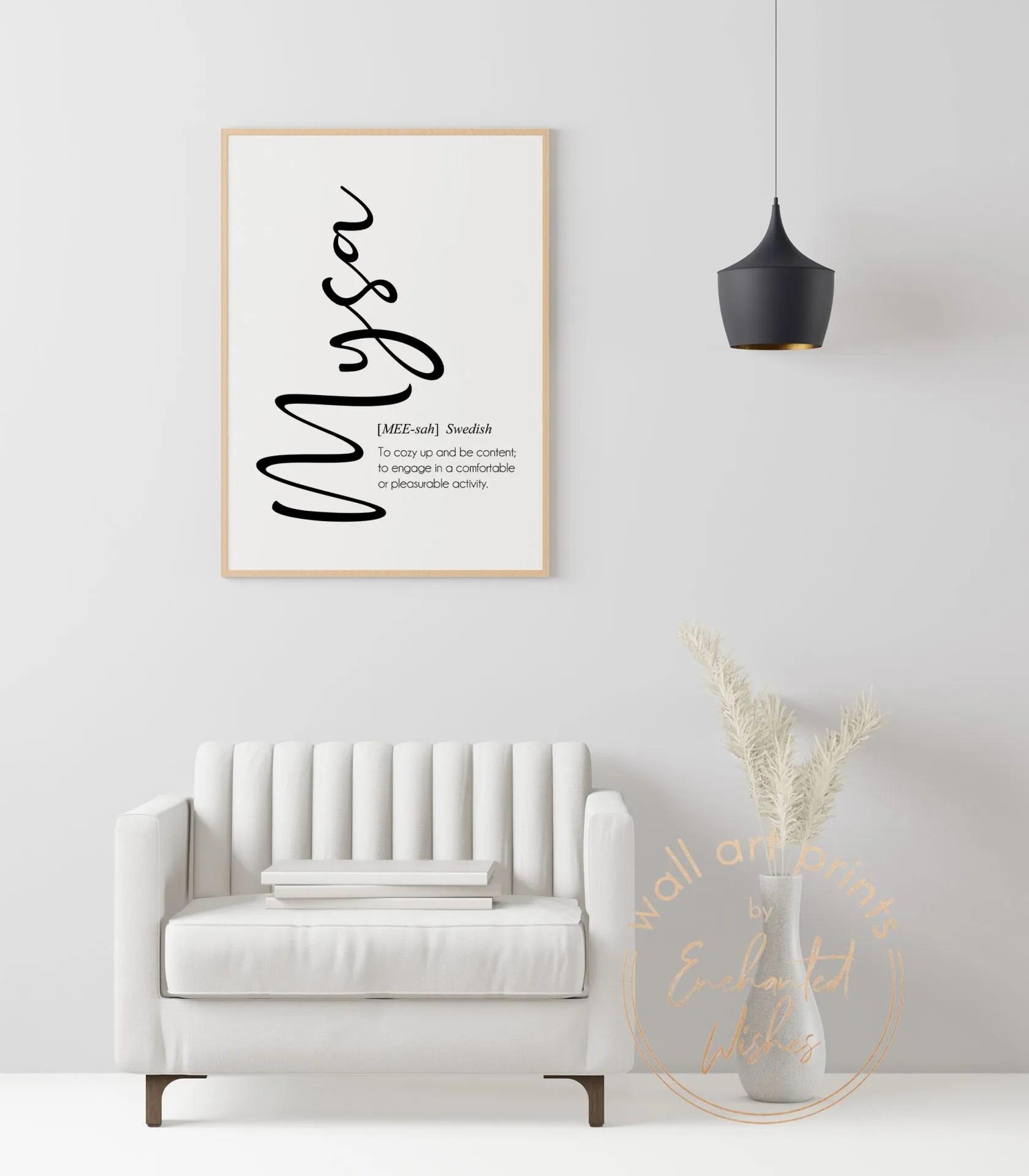 Mysa definition print