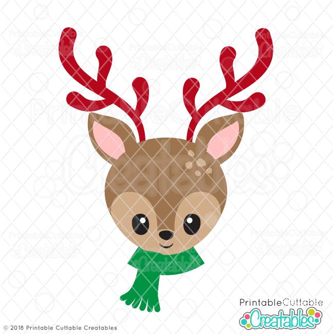 Download 15+ Cute Reindeer Svg Free Background Free SVG files ...