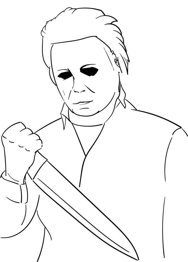 25 Best Halloween Free Printable Adult Coloring - printablee.com