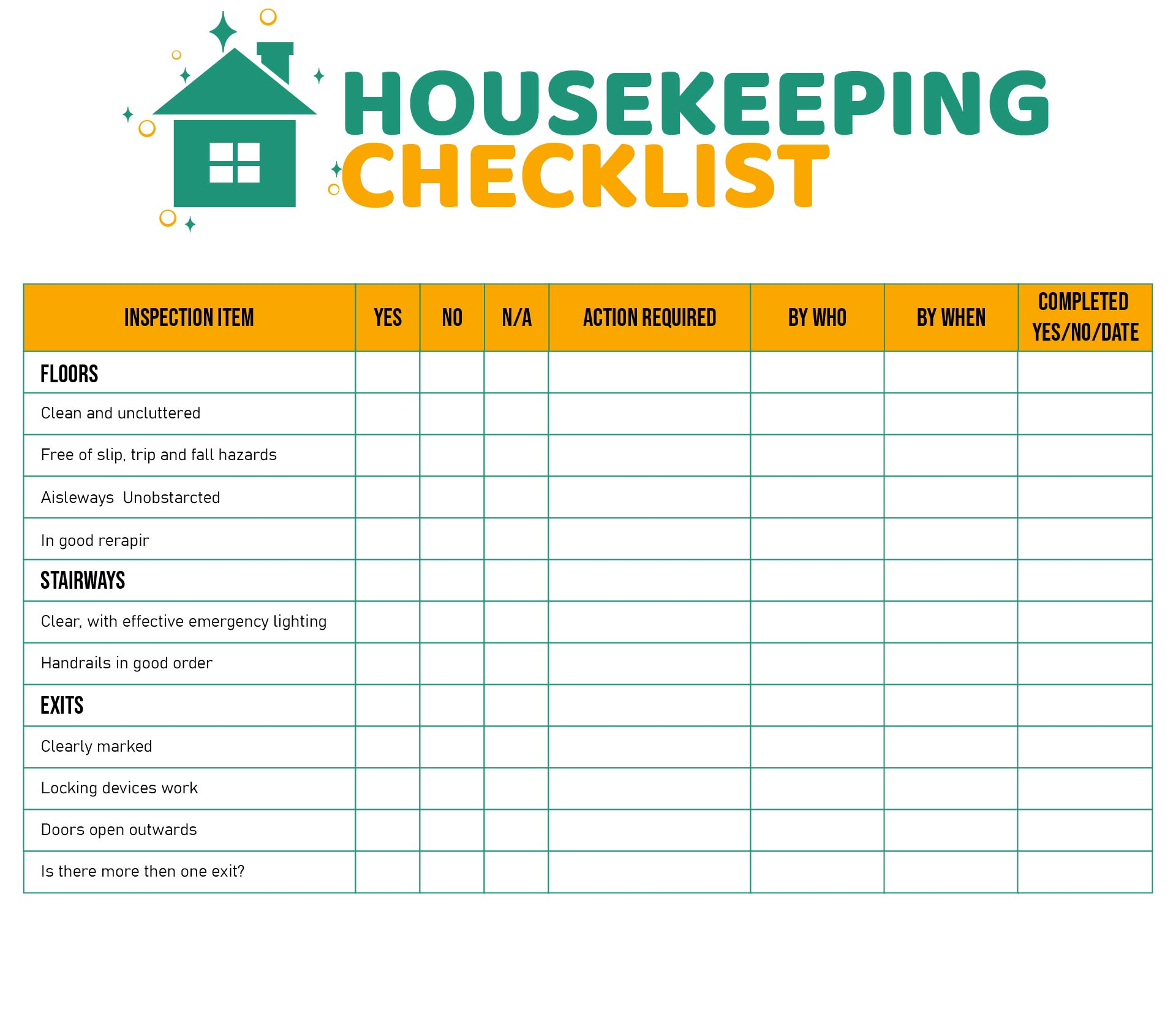 9 Best Images Of Printable Room Cleaning Checklist