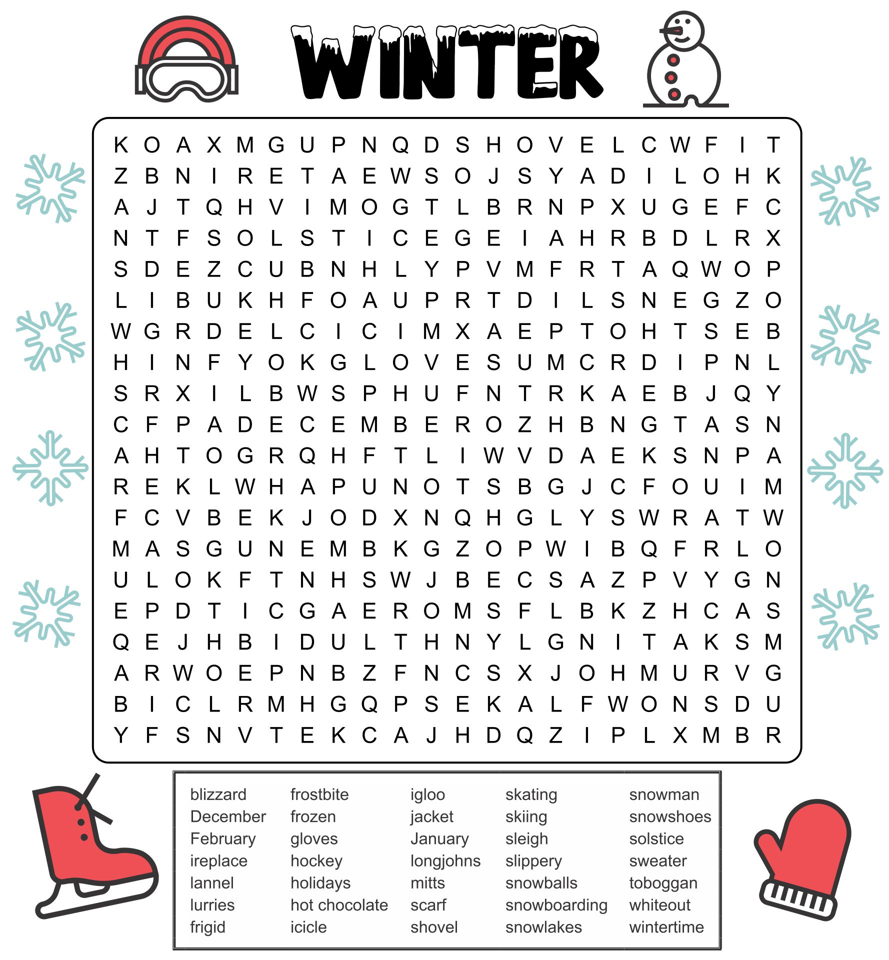 7 Best Images Of Hard Find The Printable
