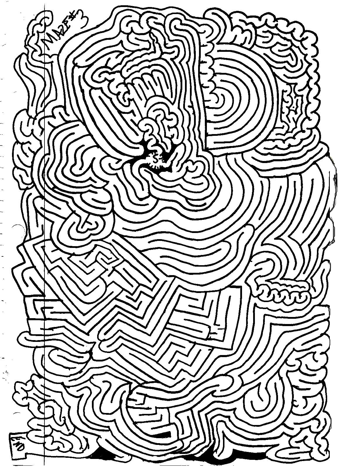 4 Best Images Of Vegetable Mazes Printable