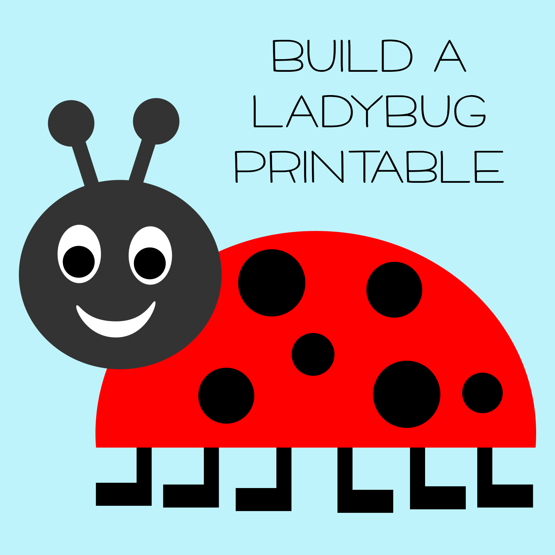 5 Best Images Of Free Printable Ladybug Templates