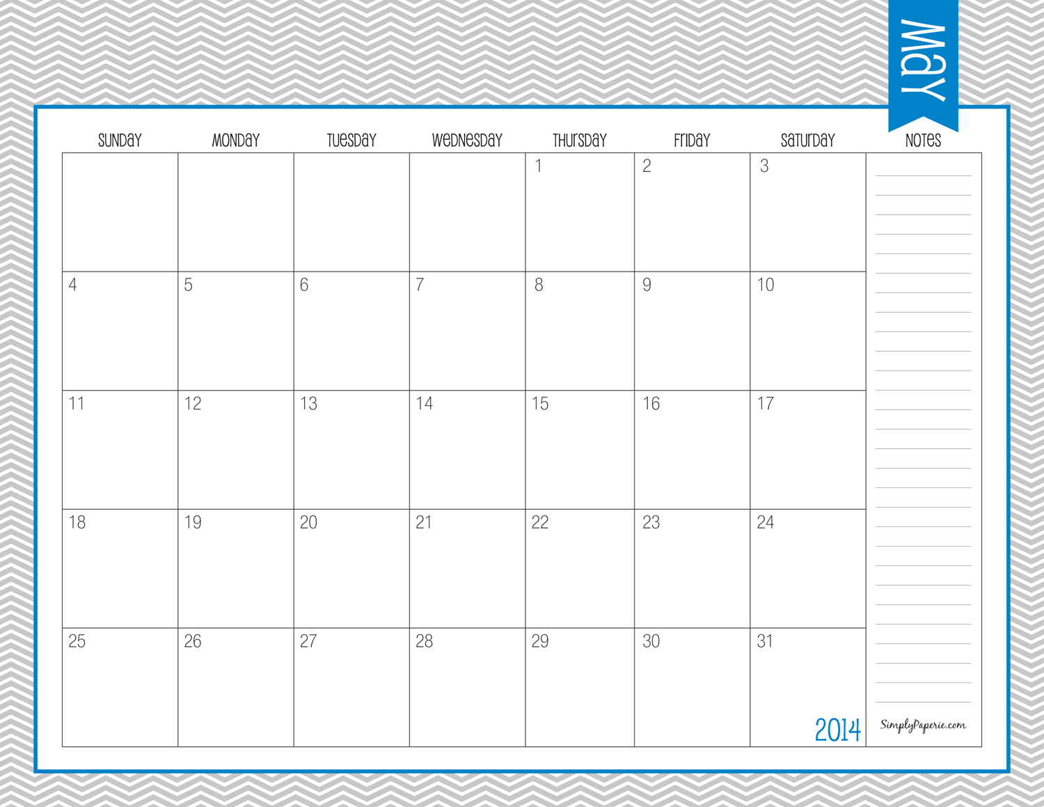 8 Best Images Of May Printable Calendar