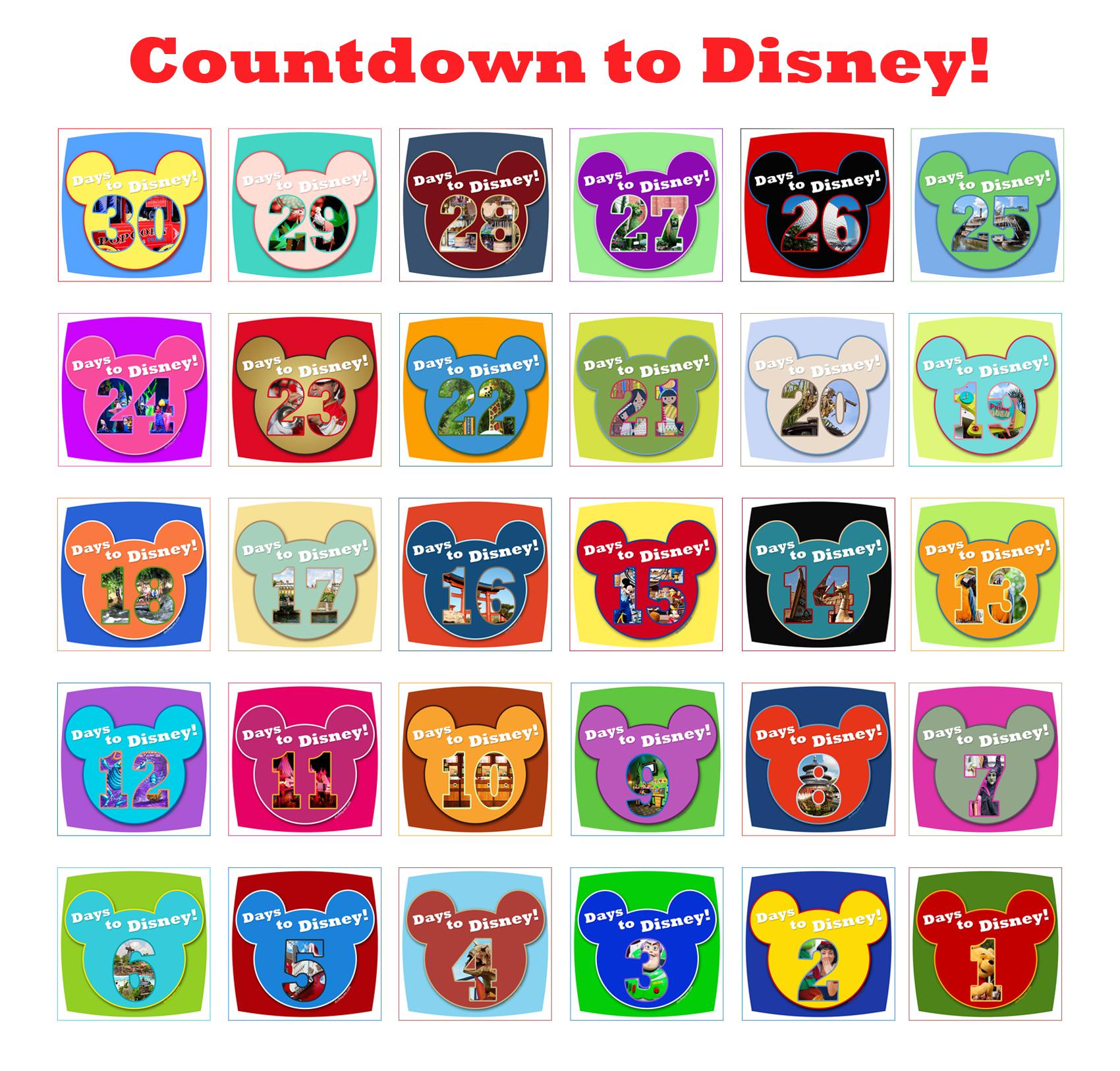 7 Best Images Of Disney Printable December Calendar