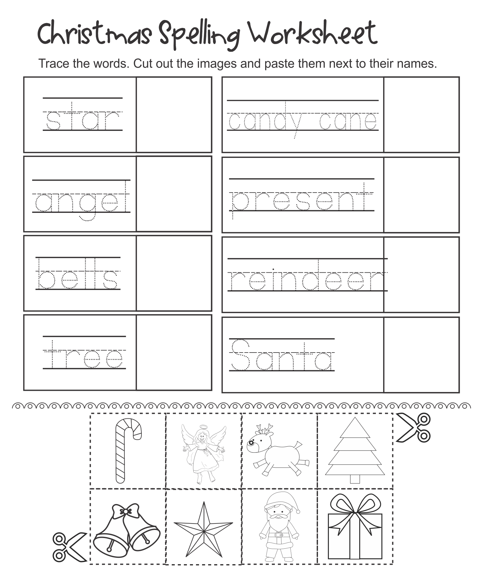 7 Best Kindergarten Christmas Activities Free Printable
