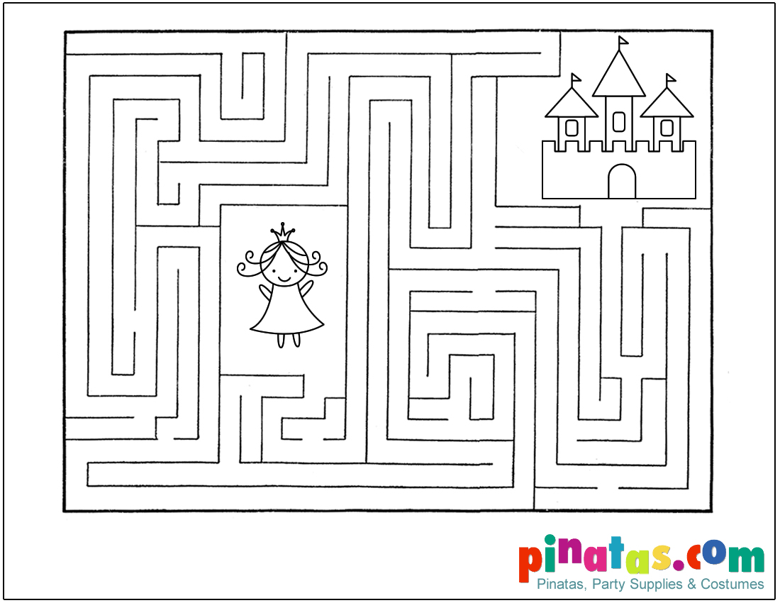Pin Castle Maze