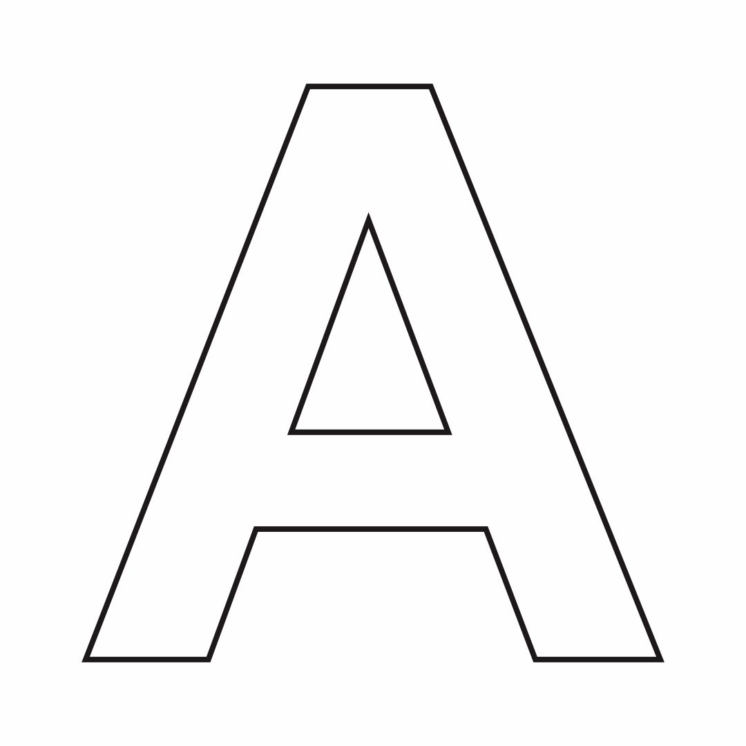 4 Best Images Of Free Printable Alphabet Stencil Letters
