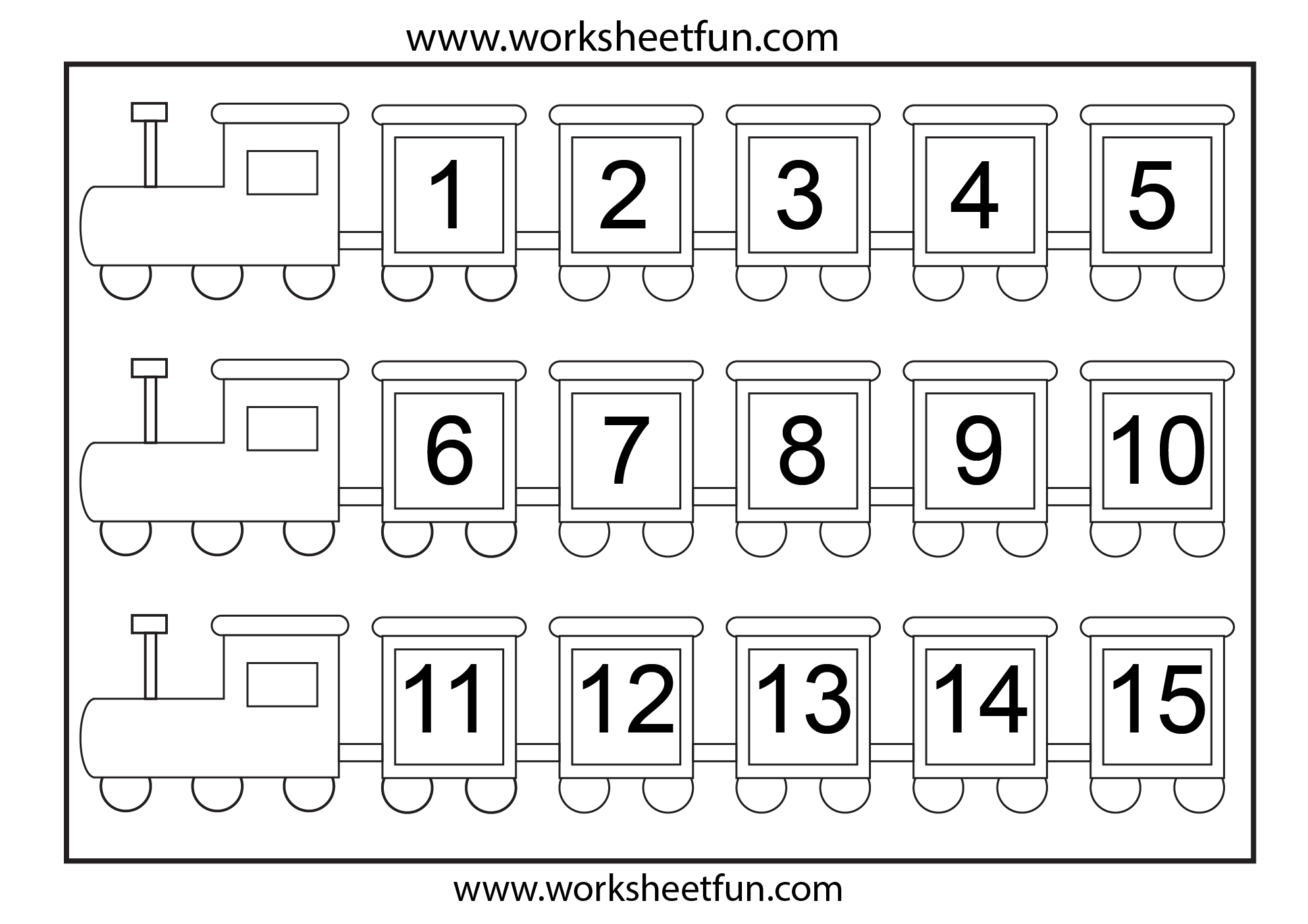 6 Best Images Of Printable Number Chart 1 15